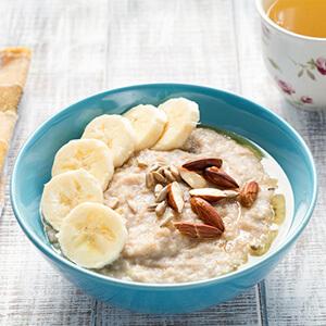 bua sang voi oatmeal