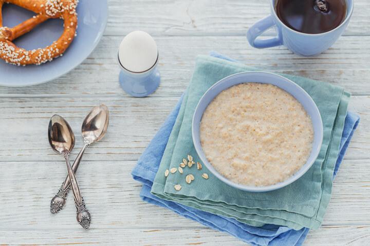 oatmeal la gi