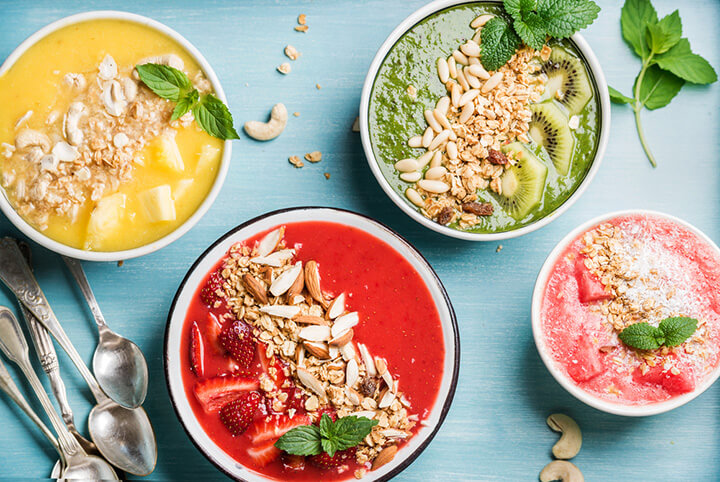 smoothie bowl la gi