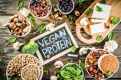 protein theo thuc vat