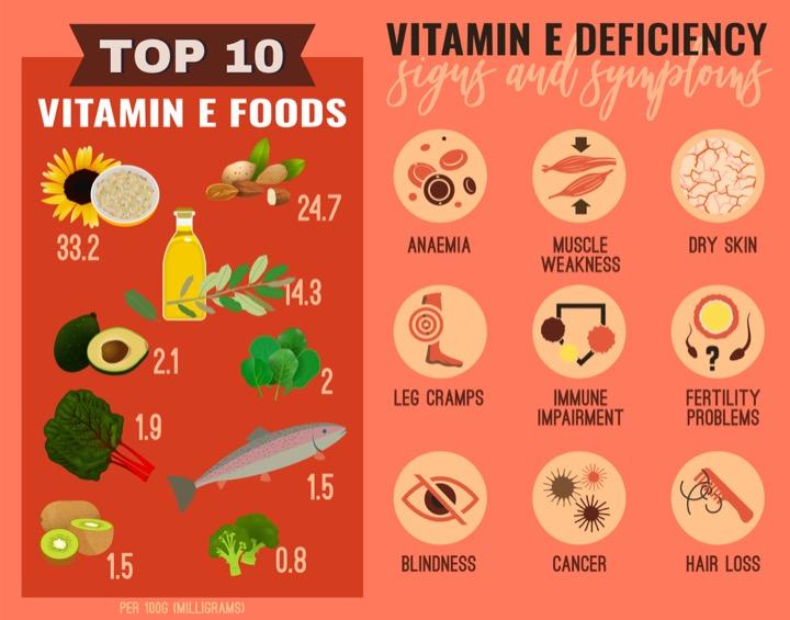 nguon thuc pham vitamin e