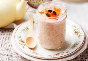 overnight oats carrot