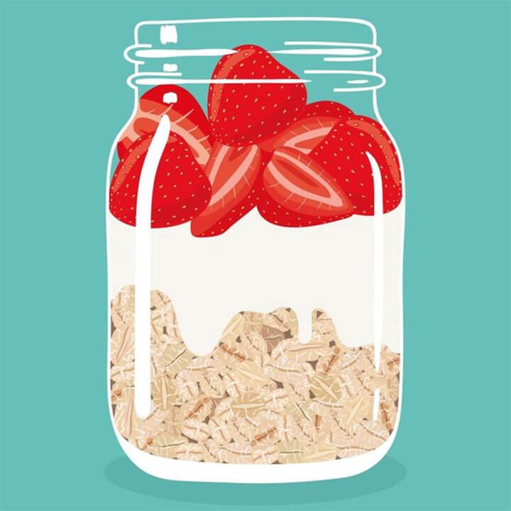 TOP 3 món overnight oats đơn giản cho bữa sáng chỉ trong 5 phút